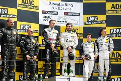 领奖台:比赛获胜者 Daniel Keilwitz, Andreas Wirth, 第二名 Albert von Thurn und Taxis, Tomas Enge, 第三名 Cl奥迪a Hürtgen, Dominik Baumann
