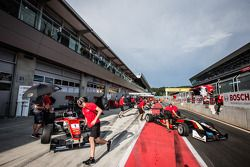 Nicholas Latifi, Prema Powerteam Dallara F312 Mercedes, Esteban Ocon, Prema Powerteam Dallara F312 Mercedes