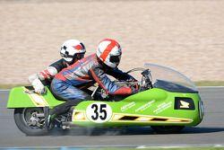 Ray Reeves e Andrew Hills, Honda 836cc