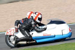 Steve Reilly et Byron Reilly, MRE BMW 750cc