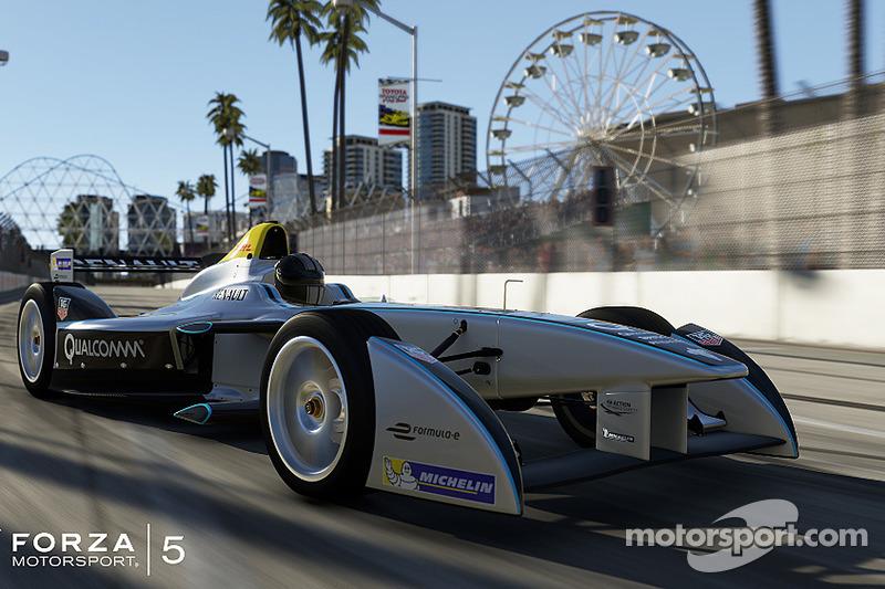 Spark-Renault SRT_01E sarà presente nel videogioco Forza Motorsport 5