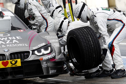 Pitstop, Joey Hand, BMW Team RBM BMW M4 DTM