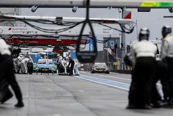 Arrêt au stand : Augusto Farfus, BMW Team RBM BMW M34 DTM