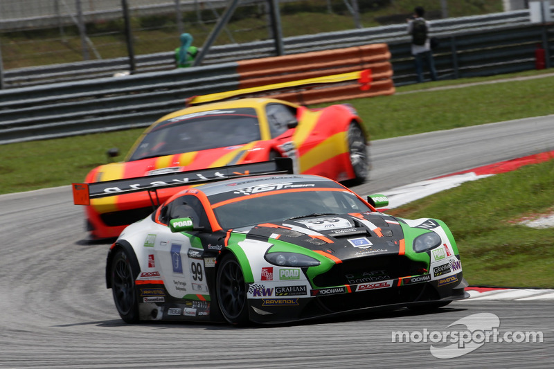 #99 CRAFT Racing Aston Martin: Jonathan Venter, Daniel Bilski