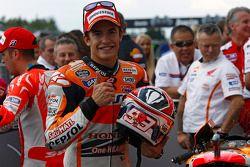 Pole position Marc Marquez heureux