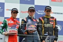 Antonio Fuoco, Max Verstappen, Esteban Ocon