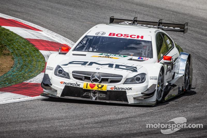 7. Paul Di Resta, HWA, DTM Mercedes AMG C-Coupé
