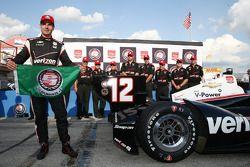 Pole sahibi Will Power, Penske Chevrolet Takımı