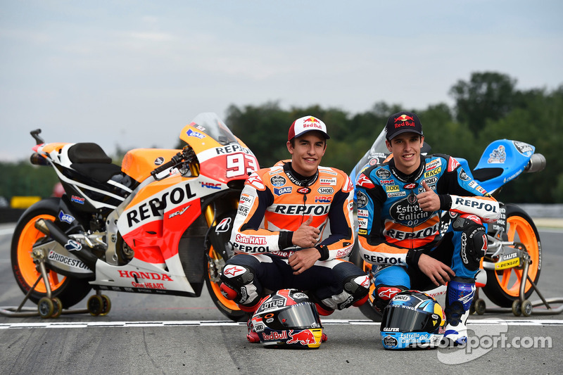 Marc Márquez and Alex Marquez