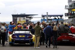 Startgrid, Gary Paffett, Mercedes AMG DTM-Team HWA DTM Mercedes AMG C-Coupe