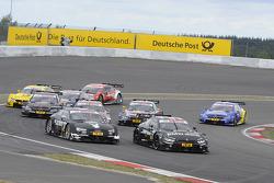 Bruno Spengler, BMW Team Schnitzer, BMW M4 DTM ; Adrien Tambay, Audi Sport Team Abt, Audi RS 5 DTM