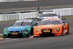 Augusto Farfus, BMW Team RBM BMW M34 DTM and Jamie Green, Audi Sport Team Abt Sportsline Audi RS 5 DTM