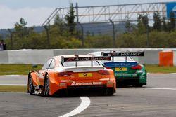 Jamie Green, Audi Sport Team Abt Sportsline Audi RS 5 DTM and Augusto Farfus, BMW Team RBM BMW M34 DTM