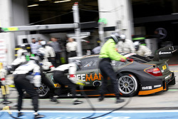 Pitstop, Robert Wickens, Mercedes AMG DTM-Team HWA DTM Mercedes AMG C-Coupe