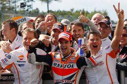 Vainqueur: Dani Pedrosa, Repsol Honda Team