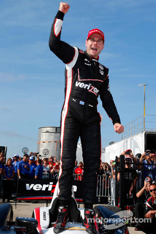 Vencedor da corrida Will Power, Team Penske Chevrolet