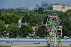 Milwaukee Mile race action