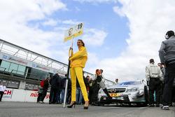 Gridgirl of Daniel Juncadella, Mercedes AMG DTM-Team M¸cke DTM Mercedes AMG C-Coupe