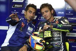 Valentino Rossi, Yamaha Factory Racing, avec Matteo Flamigni