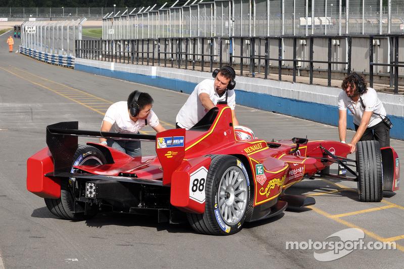 Antonio Garcia, Team China