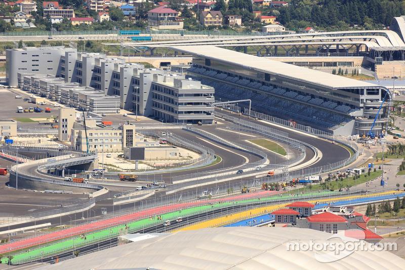 Autódromo de Sochi detalles del circuito
