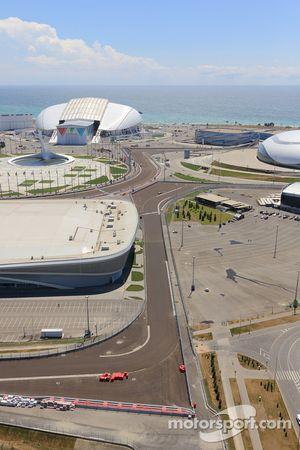 Sochi Autodrom, Detail Strecke