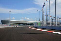 Sochi Autodrom, Strecke, Detail