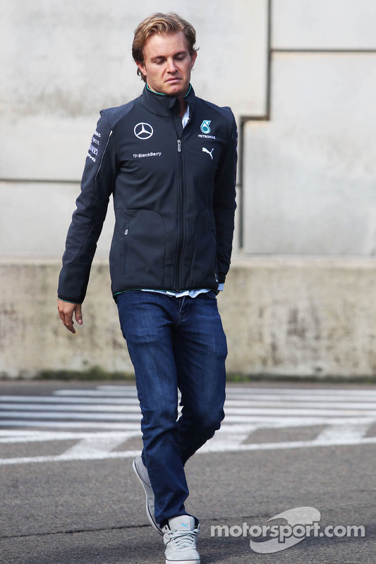 Nico Rosberg, da Mercedes AMG F1