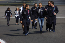 Valtteri Bottas, Williams, loopt het circuit