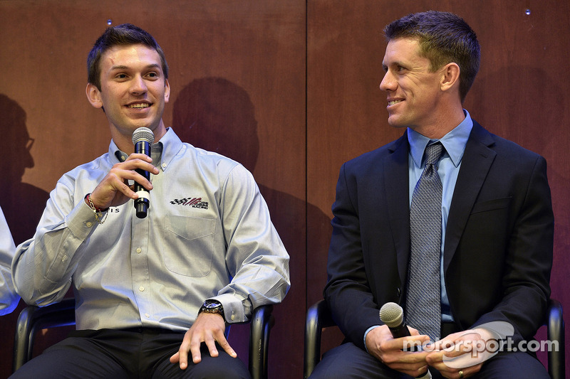 Daniel Suarez et Carl Edwards