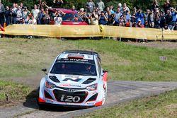 Daniel Sordo y Marc Marti, Hyundai i20 WRC, Hyundai Motorsport