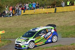 Dennis Kuipers and Robin Buysmans, Ford Fiesta WRC