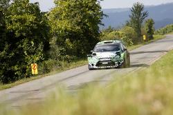 Yurii Protasov et Pavlo Cheperin, Ford Fiesta R5