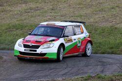 Armin Kremer en Klaus Wicha, Skoda Fabia S2000