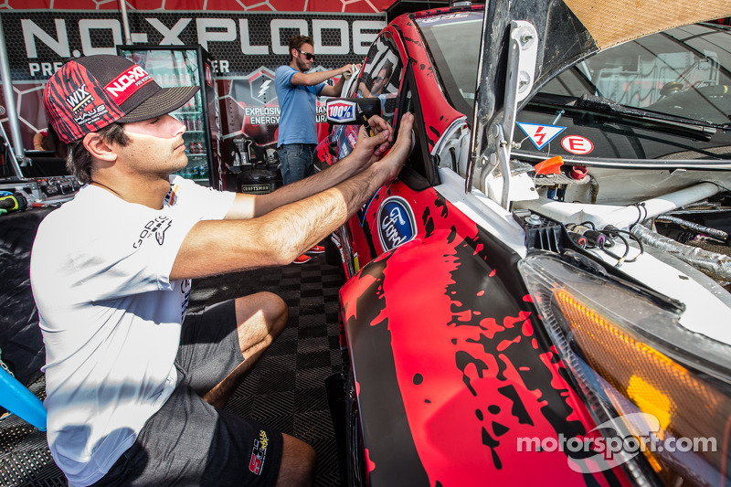 #07 SH Racing Rallycross 福特嘉年华 ST: 小尼尔森·皮奎特