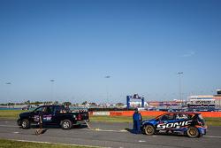 #59 Chevrolet Sonic Racing / PMR Motorsports Chevrolet Sonic: Pat Moro stuck no grid, para a largada