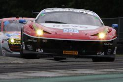 #555 AIM Autosport Ferrari 458 İtalya: Bill Sweedler & Townsend Bell