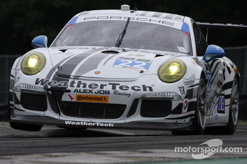 #22 Alex Job Racing 保时捷 911 GT America: 库珀·麦克尼尔. 莱·基恩