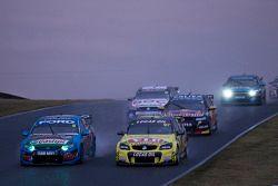 Shane van Gisbergen, Tekno Team VIP and Chaz Mostert, Ford Performance Racing