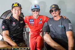 #34 Volkswagen Andretti Rallycross Volkswagen Polo: Tanner Foust, #6 DTV Solutions: Geoff Sykes e #81 Subaru Rally Team USA Subaru WRX STi: Bucky Lasek