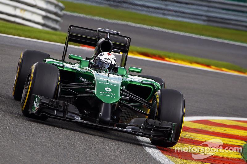 アンドレ・ロッテラー(2014年ベルギーGP:予選21番手/決勝リタイア)