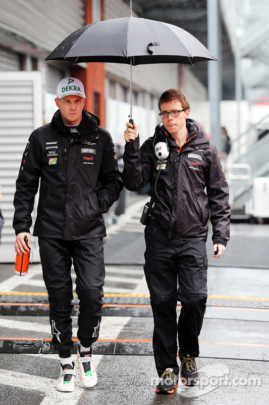 Nico Hulkenberg, Sahara Force India F1, com Will Hings