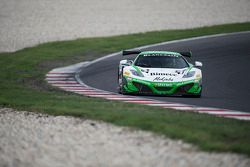 #61 Bhaitech McLaren MP4-12C: Chris Van Der Drift, Sten Pentus