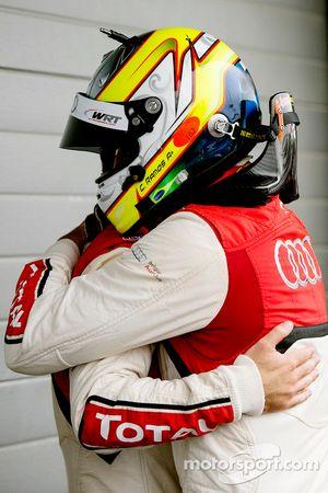 I vincitori della gara Cesar Ramos e Laurens Vanthoor