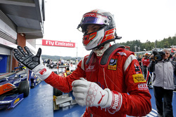 Race winner Raffaele Marciello