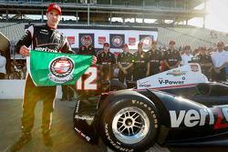 Pole position Will Power, Team Penske Chevrolet