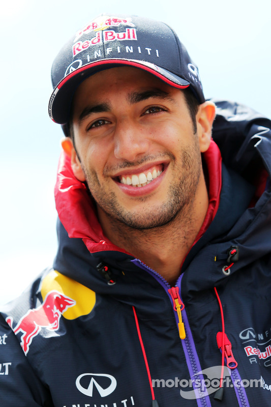 Daniel Ricciardo, Red Bull Racing no desfile