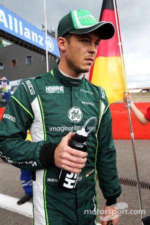 Startaufstellung: Andre Lotterer, Caterham F1 Team