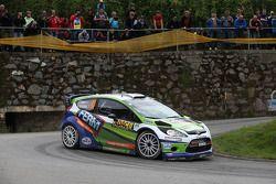 Dennis Kuipers y Robin Buysmans, Ford Fiesta WRC