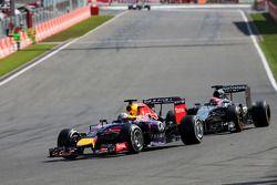 Sebastian Vettel, Red Bull Racing en Jenson Button, McLaren F1 Team